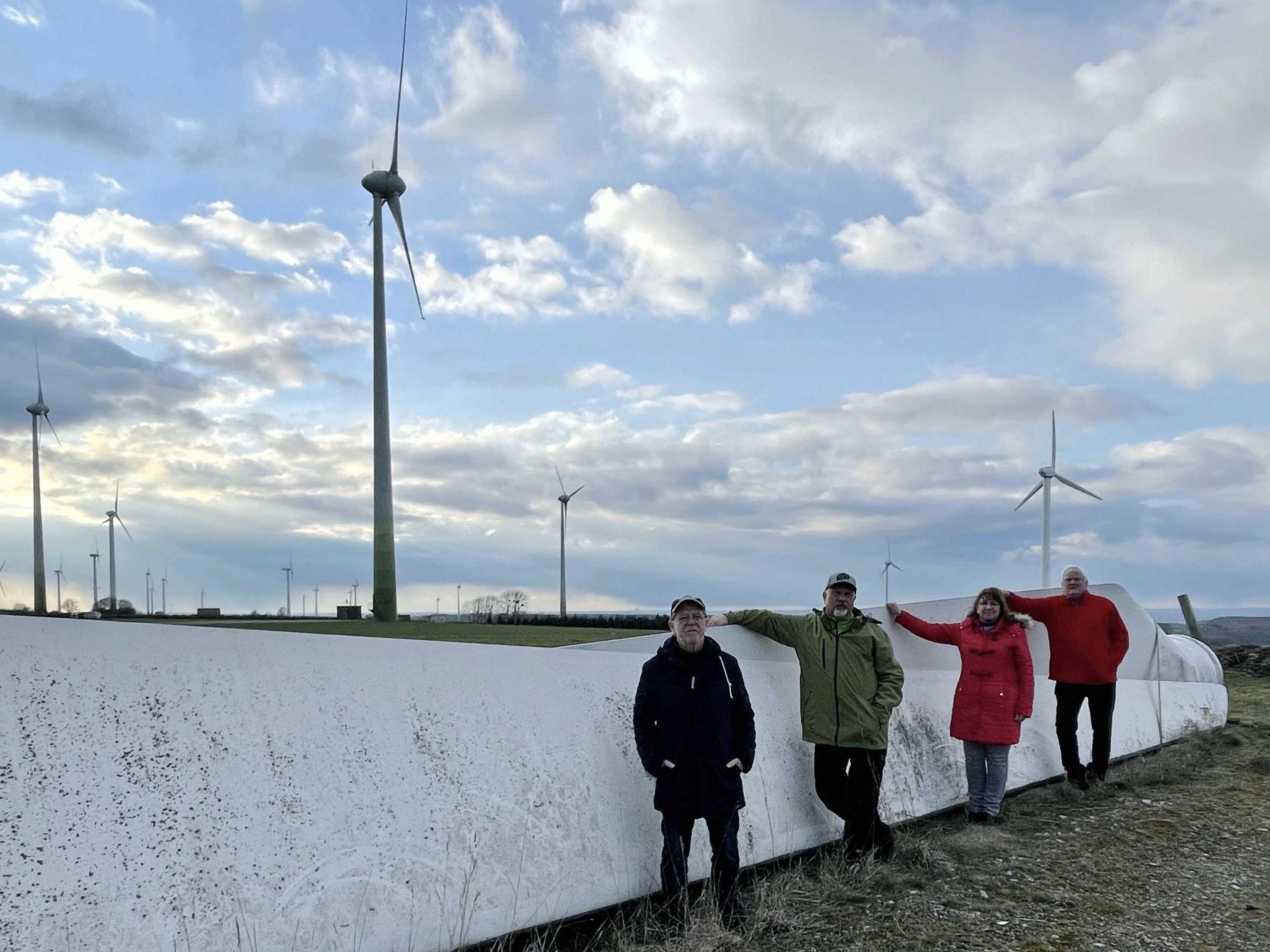 Windkraft im Wald