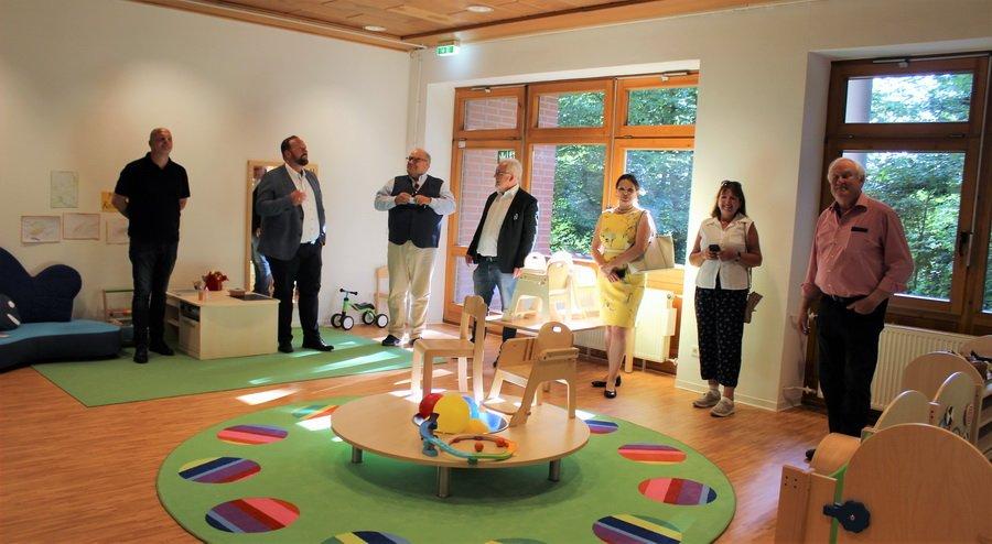 Besichtigung neuer Kindergarten