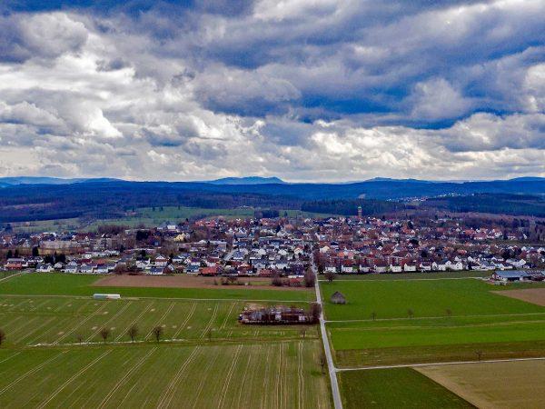 Geplantes Baugebiet Rüthen Nord