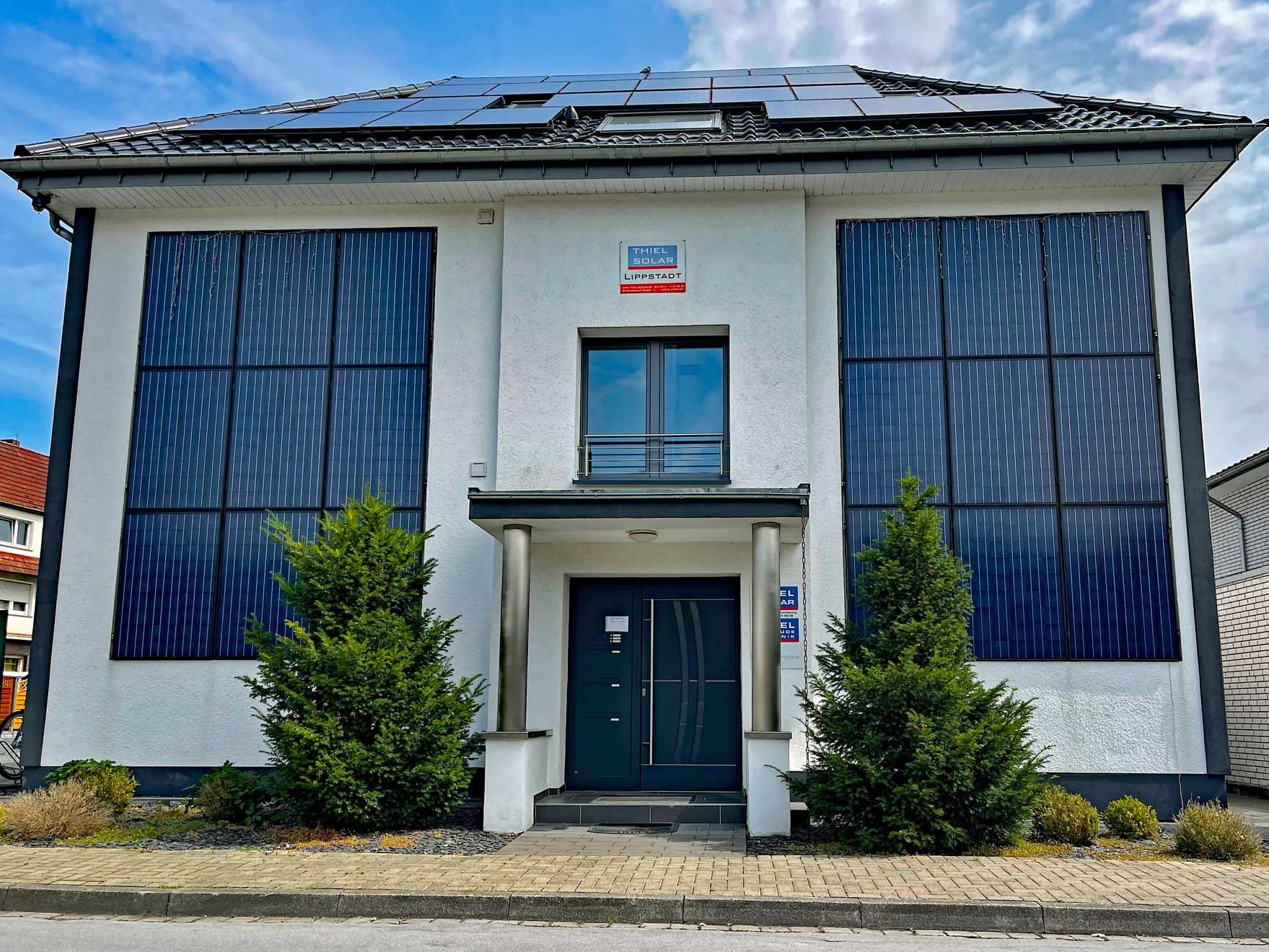 Antrag: Private Stromerzeugung durch Solar